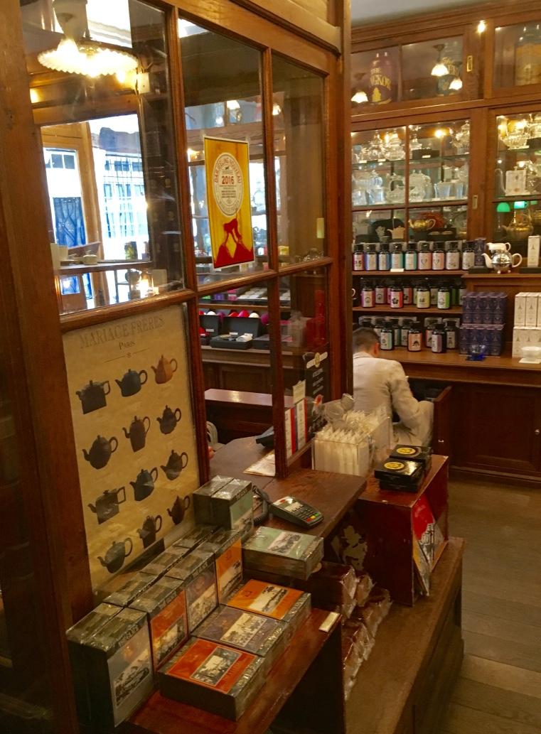 mariage freres tea shop