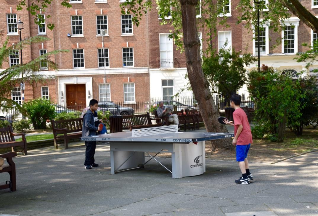 soho square ping pong