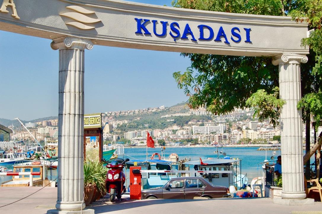 Kusadasi, Turkey - the modern postcard