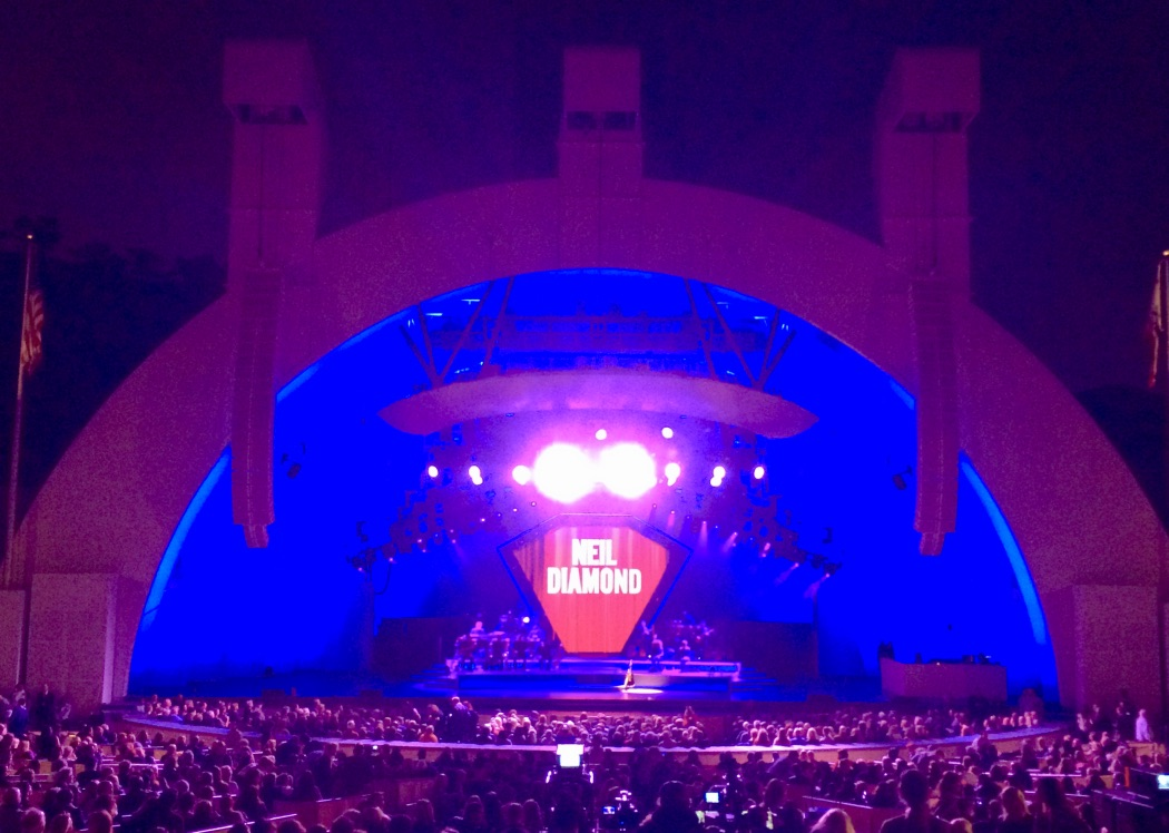 Hollywood Bowl Neil Diamond.