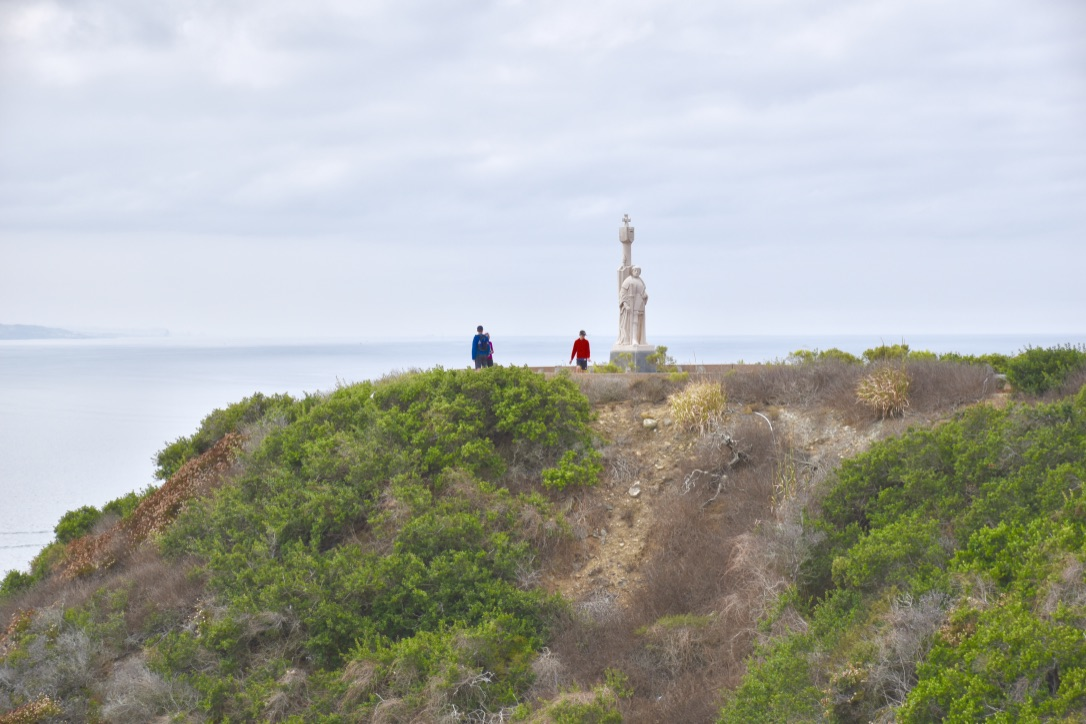 Cabrillo National Monument Against the Pacific - the modern postcard
