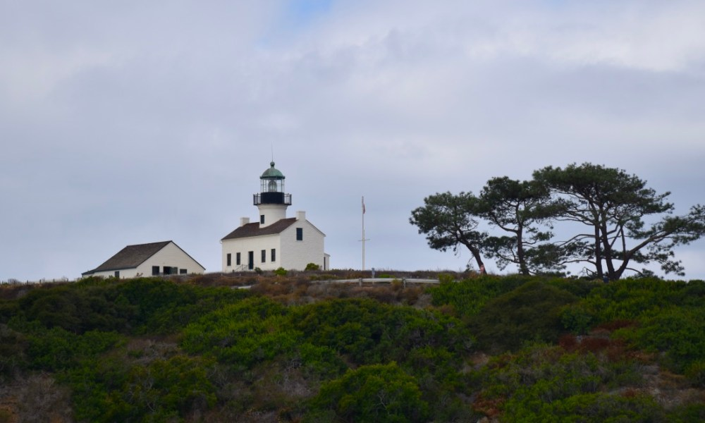 Cabrillo National Monument: On A Clear Day You Can (Almost) See Forever