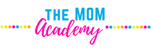 the mom academy header