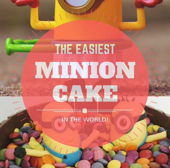 The Easiest Minion Cake In The World – Made By The World's Worst Baker