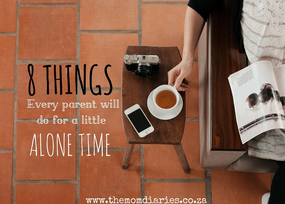 8 Things Every Parent Will Do For A Little Alone Time