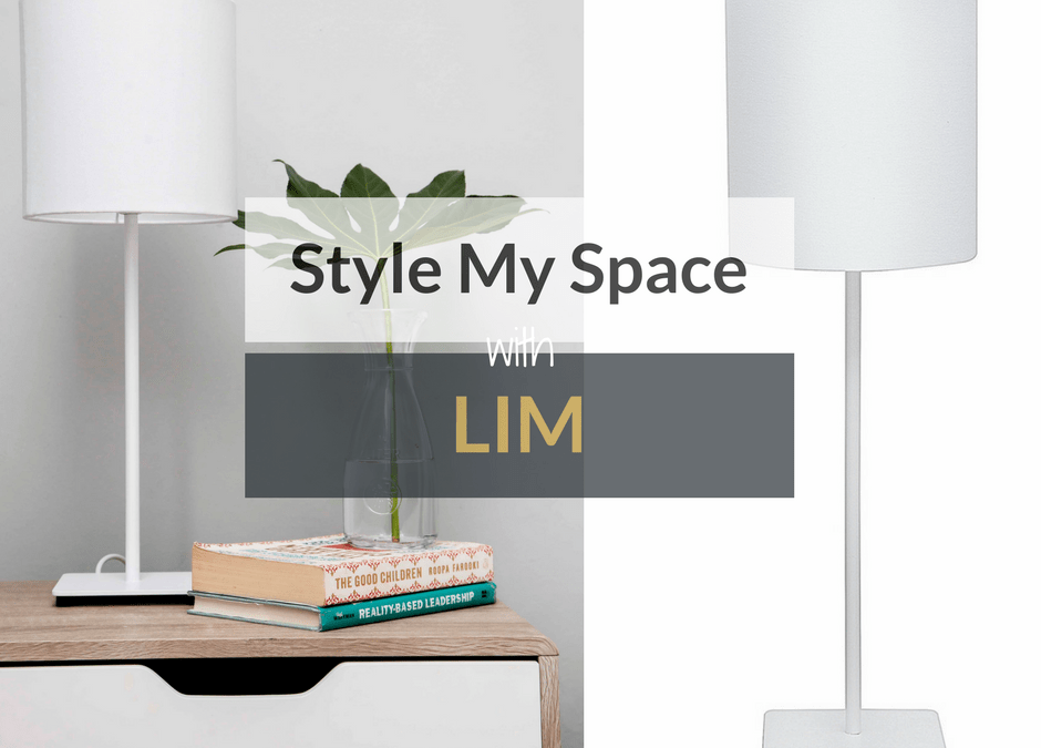 Style My Space With LIM PLUS *WIN a Set Of Their Bedside Lamps!!