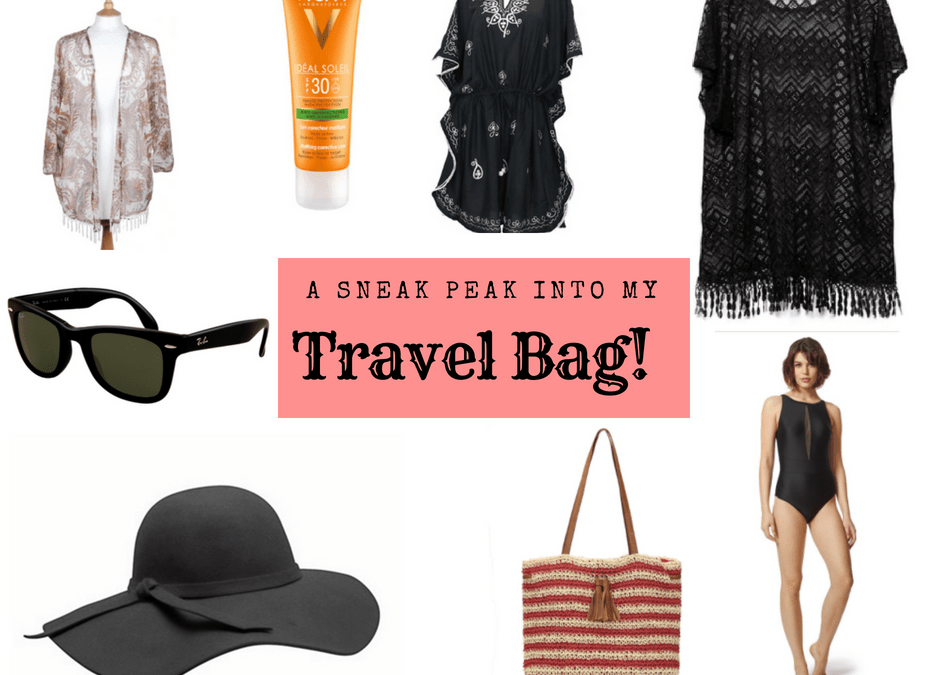 A Sneak Peak Into My Island Holiday Travel Bag