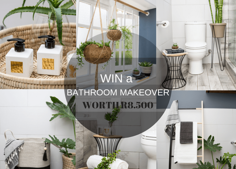 *WIN* A Bathroom Makeover Worth R8.500!