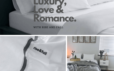 *WIN Luxurious Bed Linen From Rise And Fall Worth R3499 This Valentines!