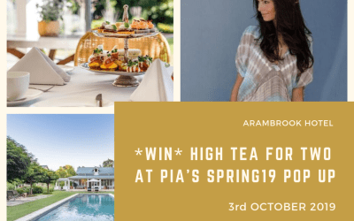 Pia's Spring19 Garden Pop Up + *WIN* High Tea For Two Worth R590!