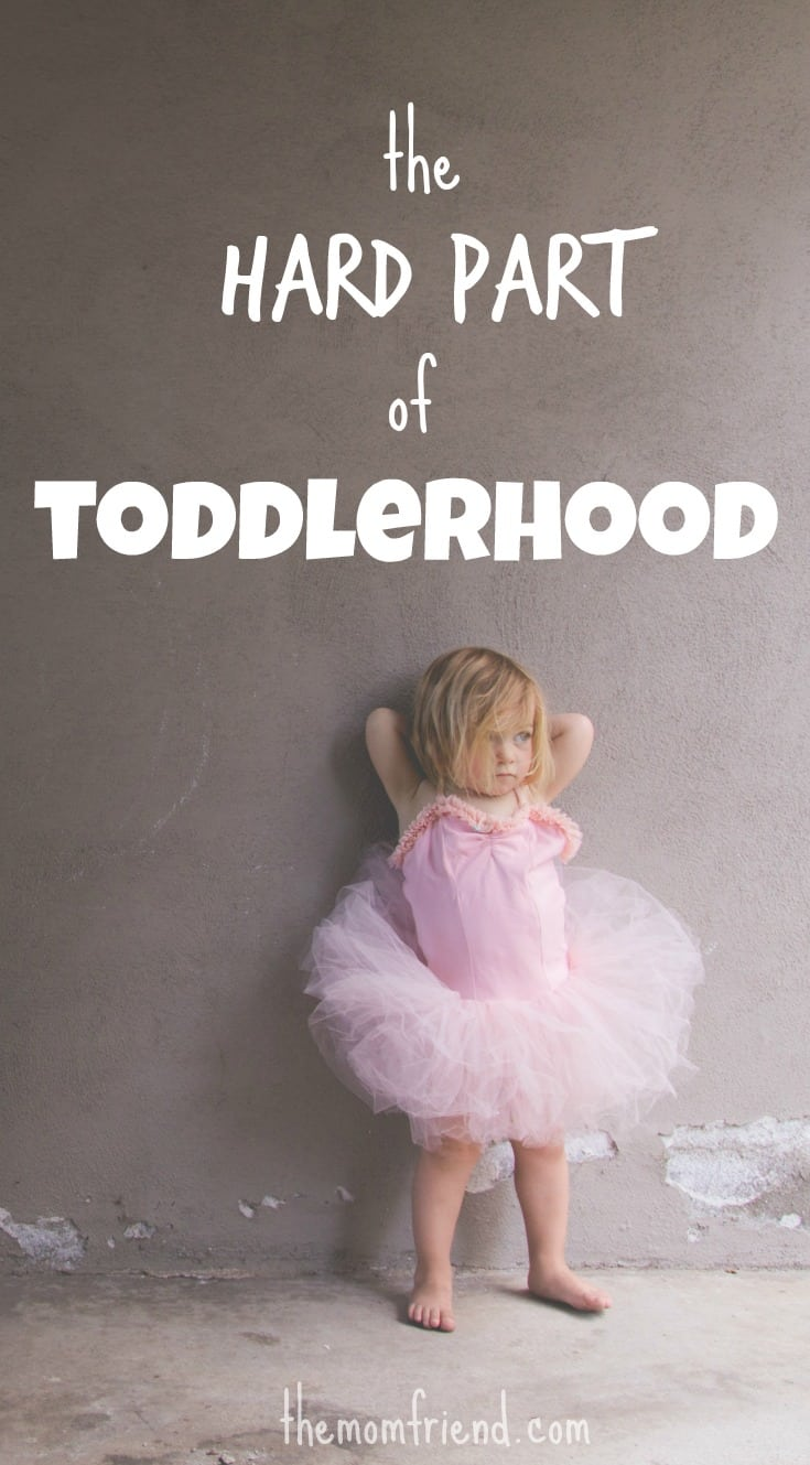 There are times when the kisses are plentiful and the giggles contagious. But then there are other times, hard times in toddlerhood. You are not alone Mama. | toddler life | toddler behavior | toddler tantrum | encouragement for moms | The Mom Friend