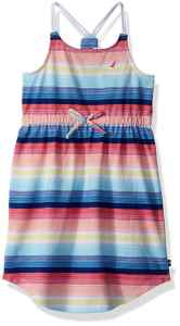 nautica braided strap dress
