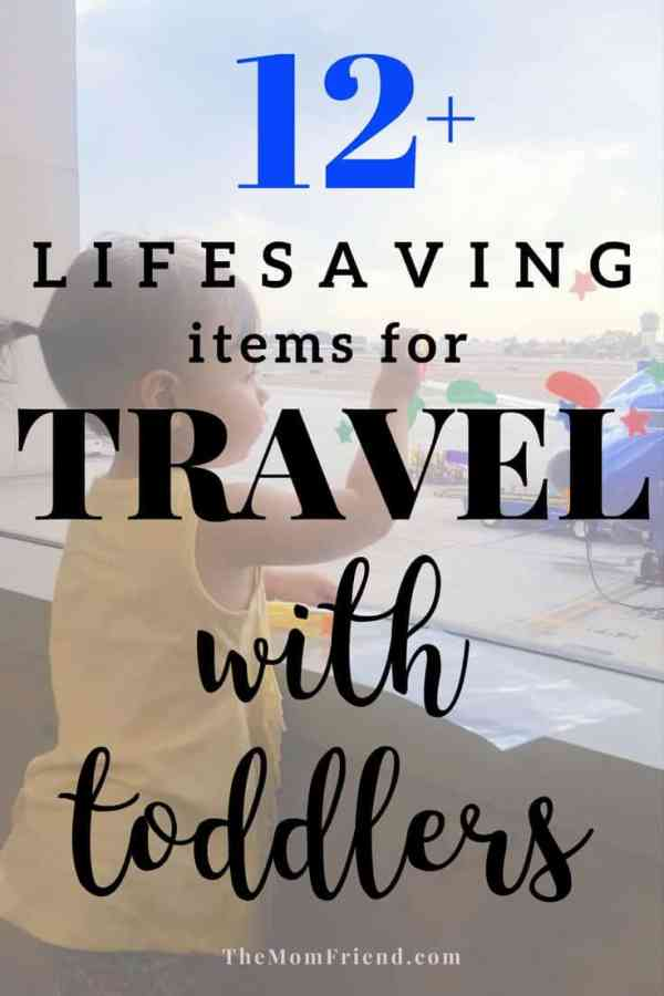Must-haves for travel with toddler, whether on a plane or in a car, these are the best travel items to help the trip go smoothly! Family Travel | Best baby gear | travel gear for kids #toddlergear #travelwithkids #travelwithtodder