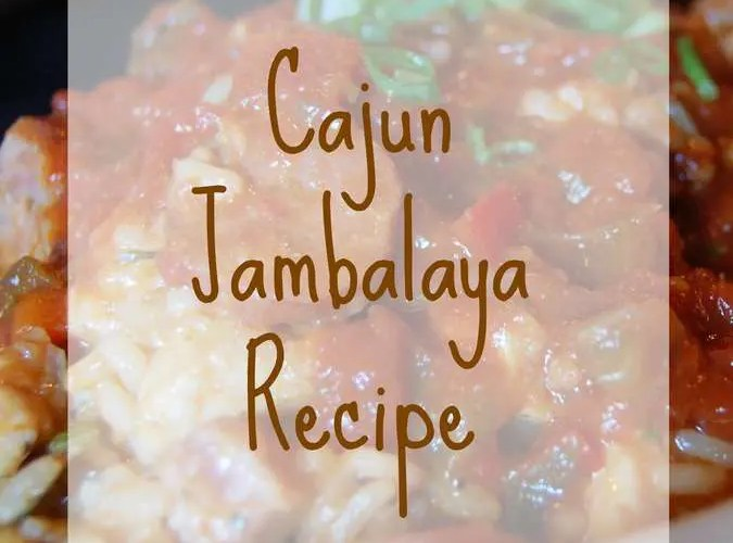 Cajun Jambalaya- Easy Recipe (Seafood Optional)