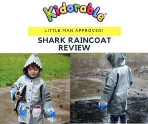 Shark Raincoat – A Kidorable Product Review