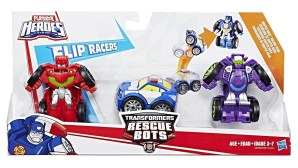 Playskool Heroes Transformers Rescue Bots Flip Racers Griffin Rock Racing Team