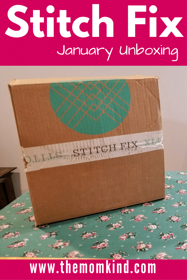 Stitch Fix Clothing Subscription box Review January 2018 - Fashionable Clothing sent to your doorstep!