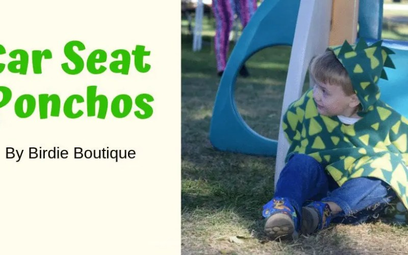 Birdy Boutique Car Seat Poncho Review