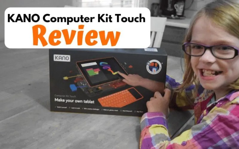 KANO Computer Kit Touch Review-Build and code your own Tablet