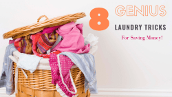 Laundry is an inevitable expense for everyone! The larger your family, the more it costs. So how do you Do loads of laundry without spending loads of cash? Check out these tips Learn How to Save Money on Laundry in 2019