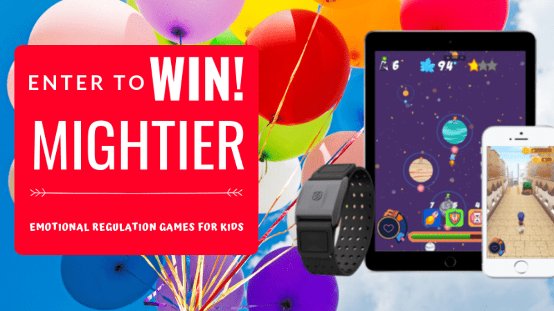 Mightier Emotional Regulation Games is the Video Game System that is making waves in the Autism Community. It is perfect for ANY child that struggles with emotional regulation and even adults can benefit! Great for those with ADHD, Anxiety, ASD, and other Emotional Regulatory Disorders. Enter for your chance to win Mightier by Neuromotion Labs @TheMomKind @BeMightier #autism #giveaway #contest #sponsored