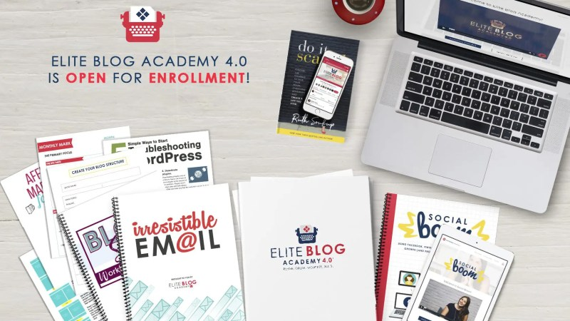 Are you struggling to turn our blog into a full time business? Check out Elite Blog Academy 4.0, the resource that changed my blogging career forever!