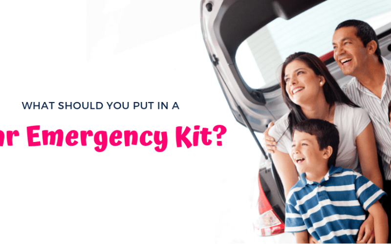 Staying safe while driving with your family: Car Emergency Kit