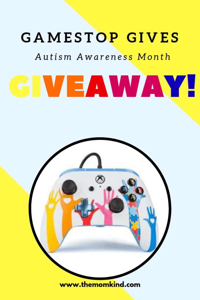 GameStop Gives Releases Limited-Edition Xbox One Controller to Support of Autism Awareness. Find out about more and enter to win!  -- You might know there are Xbox games for autism, but did you know there are games created by autistic adults?  GameStop not only knew this but has created a Limited Edition Xbox One controller to support Autism Awareness.  They are donating a portion of the proceeds from each of these awesome controllers sold to the nonPareil Institute!
