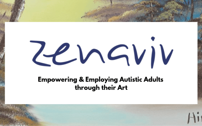 Zenaviv- Employing Autistic Adults through their Art