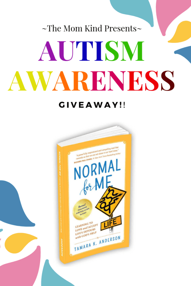 """When it comes to autism parenting, the biggest trap we can fall into is chasing what is """"normal for me"""".  Join us as we celebrate #AutismAwarenessMonth and the much anticipated release of Normal for Me by Tamara K Anderson with a #giveaway !"""
