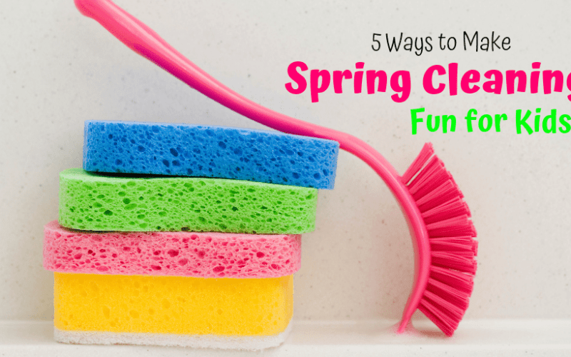 5 Ways to Make Spring Cleaning Fun for Kids