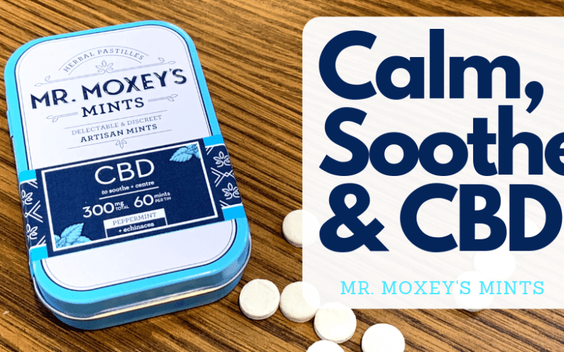 Calm, Soothe, & CBD: Mr. Moxey's Mints