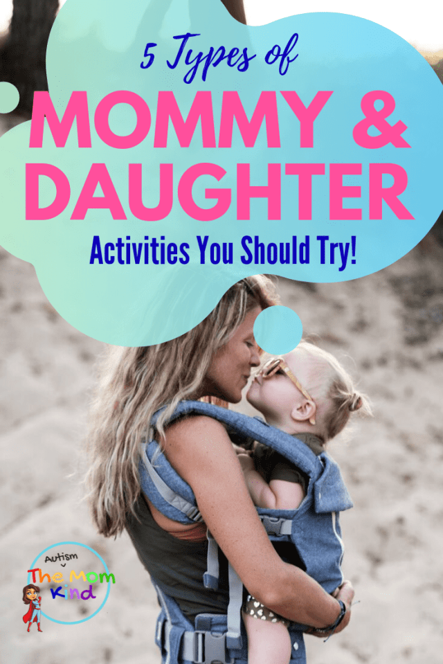 There are many bonding activities, ranging in budget and time commitment. Check out these five types of mom and daughter activities that will take the traditional bonding experience a step further. #momlife #parenting #momandme