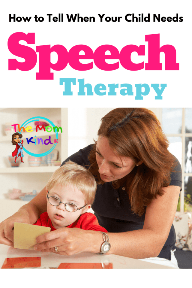 Sometimes, it is hard to know how to tell if your child needs speech therapy.Learn how to determine if your child may have a speech delay.  #speechdelay #speechdisorder #slp #speechlangauagedisorder