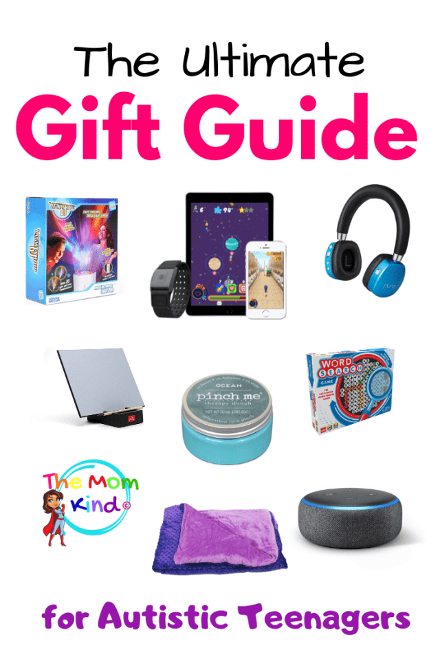 Check out this Ultimate Guide of Gift Ideas for Autistic Teenagers! Find the perfect gift for your teen with autism #autismparenting #giftguides #autism #asd #parentingteens