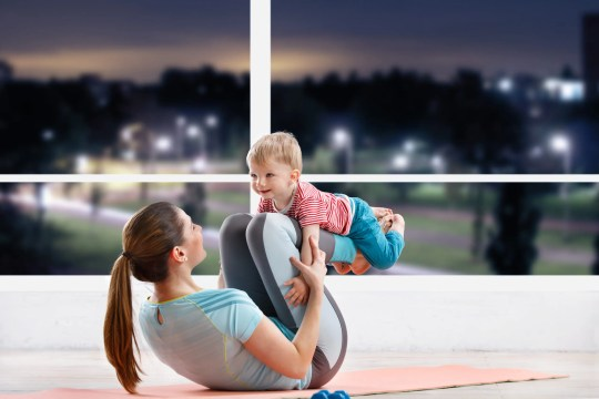 Curious about the Health Benefits of Yoga for New Moms? If so, keep reading to learn all the ways yoga can positively affect your well-being! #health #yoga #newmom #bodyafterbaby