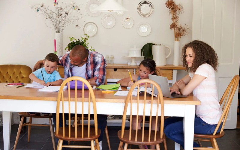 4 Easy Tips for Setting up Your Homeschool Space