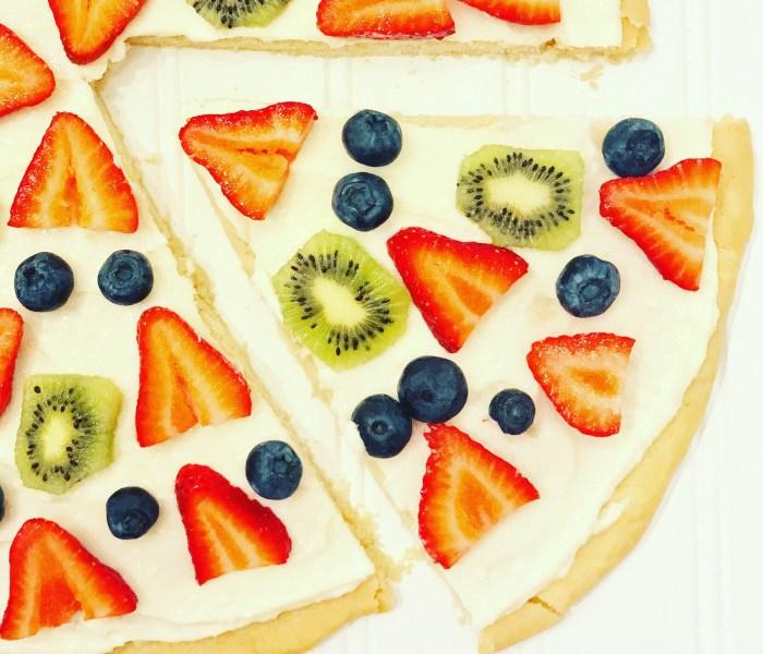 Fruitastic Pizza!