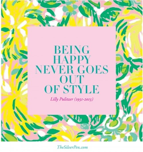 Lilly Pulitzer- Spring Time Essentials
