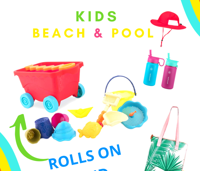 What To Pack- Kids Beach and Pool