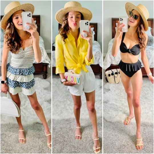 Weekend Outfit Look Book- Easy Summer Styles and Swimwear