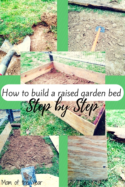 Raised Step Garden Vegetable Step