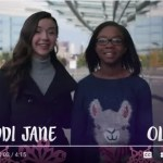 Olivia and Maddi Jane Give Back for the Holidays