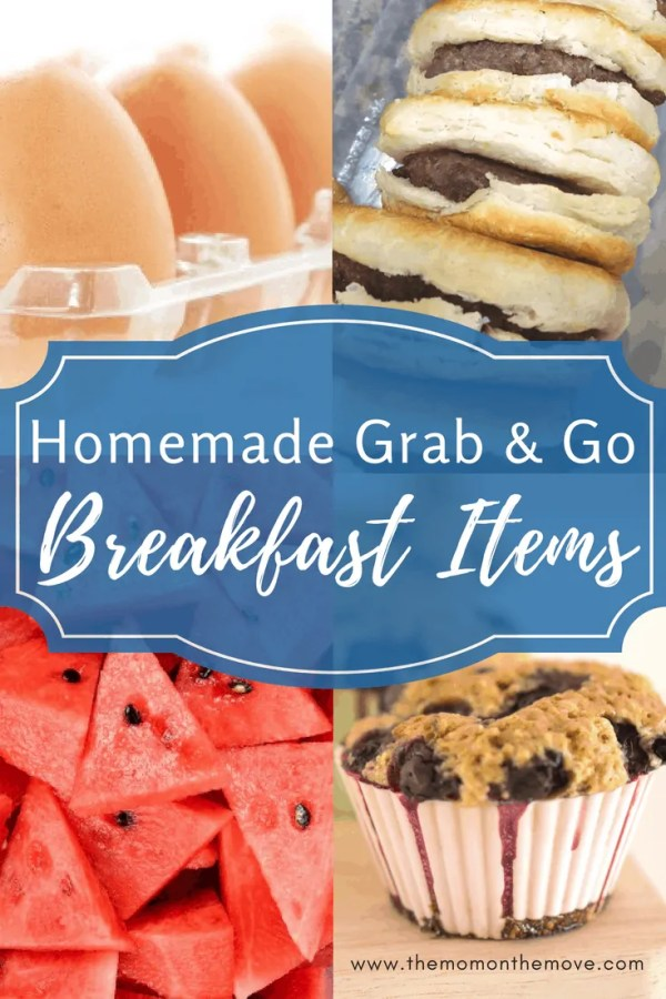 grab & go breakfast main