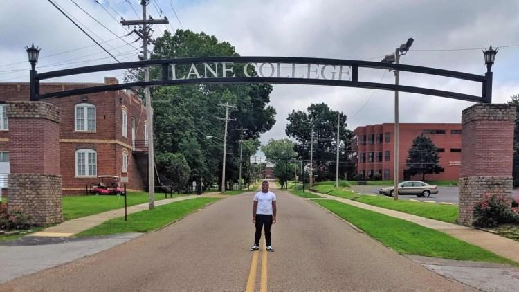 College Bound Son - Campus