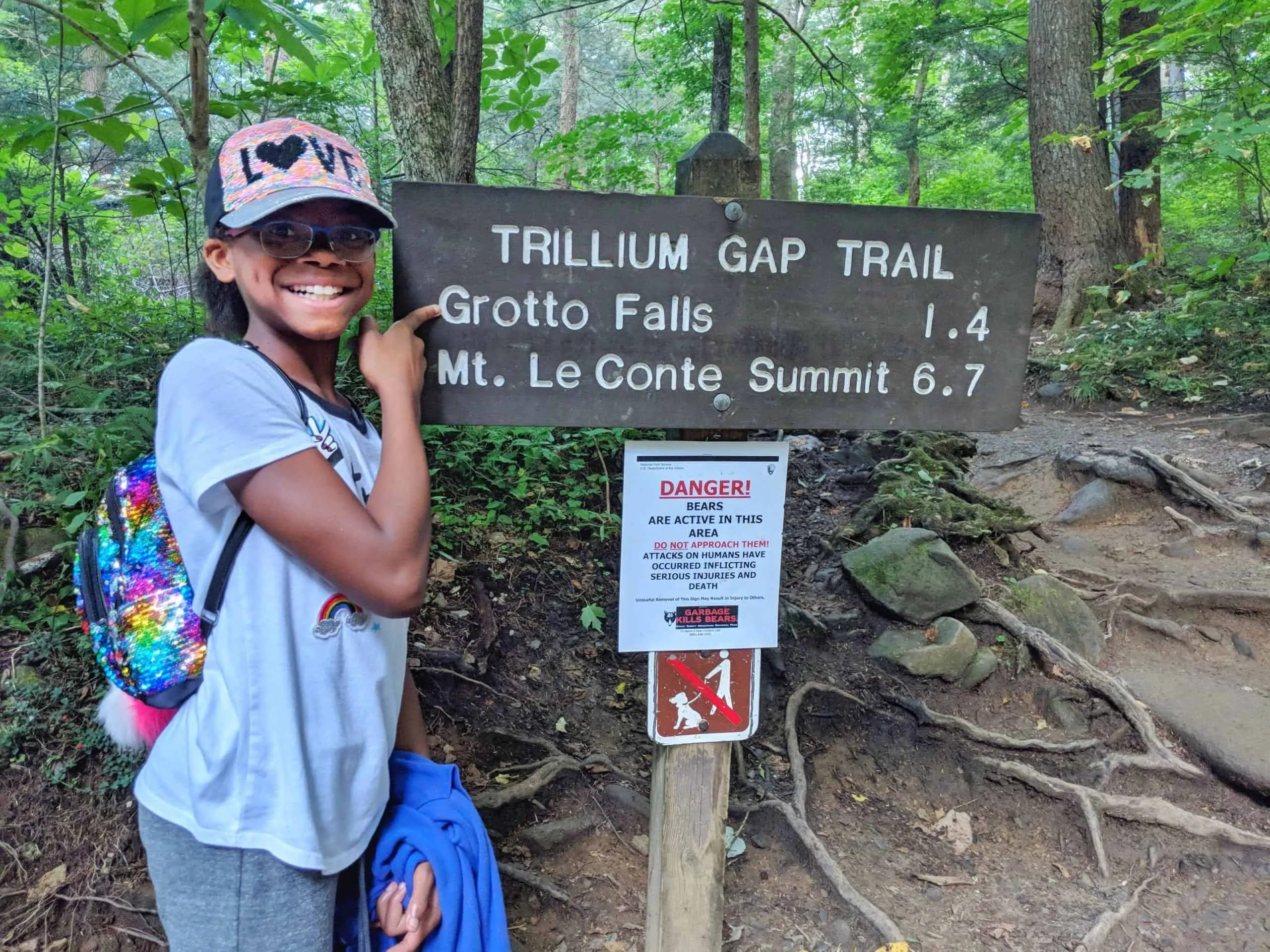 This is the same trailhead that goes to popular punchbowl falls. How I Convinced My Family To Hike To Grotto Falls The Mom On The Move
