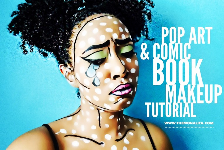 Pop Art & Comic Book Makeup Tutorial