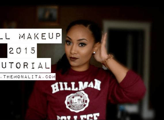 fall makeup 2015 tutorial