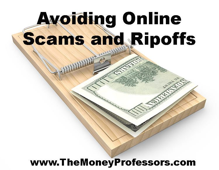 Avoiding Online Scams and Ripoffs