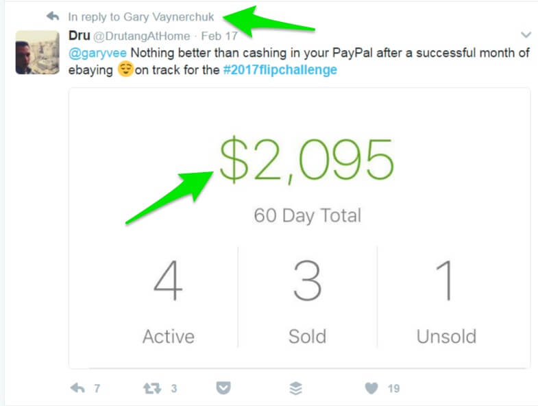 One of the residual income ideas that has you selling old things to earn money